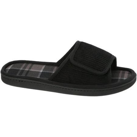 6ee9e568e DF by Dearfoams Men s Corduroy Slide Slipper - Best Men s Slippers