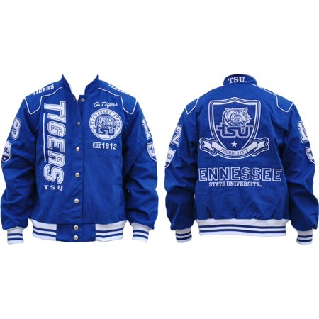 - Tennessee State S7 Ladies NASCAR Twill Jacket [Royal Blue - S]