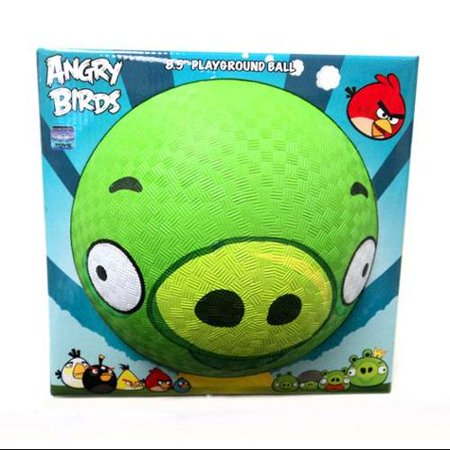 Angry Birds Pig Rubber Playground Ball