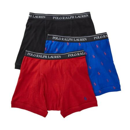 b8d08dd5fb3d Ralph Lauren - Ralph Lauren Mens 3-pack Underwear Boxer Briefs - Walmart.com