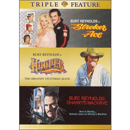Stroker Ace   Hooper   Sharkys Machine  Triple Feature