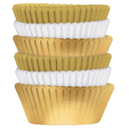 Value Pack Foil Cupcake Baking Cups, Package 150