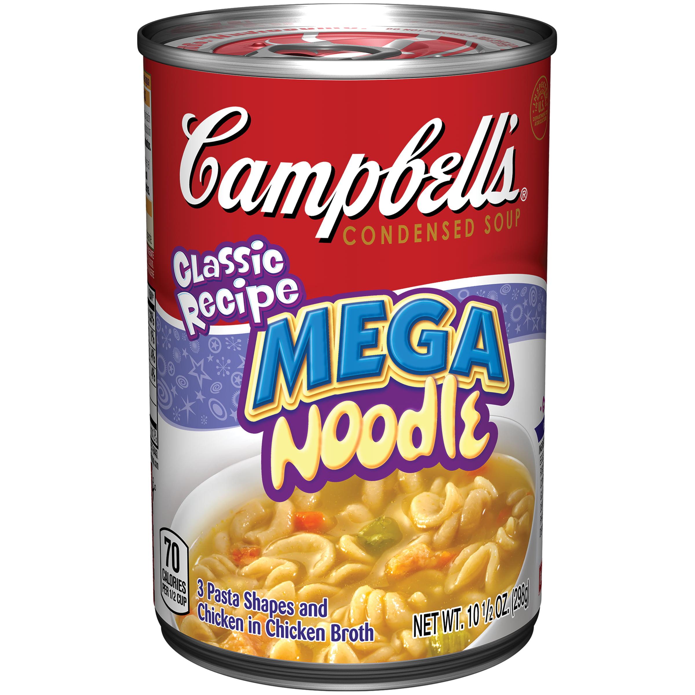 Campbell's Mega Noodle Soup 10.5oz