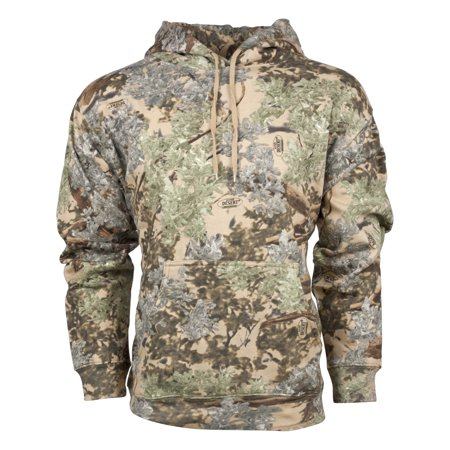 King's Camo Classic Cotton Pullover Hoodie Desert Shadow Medium ()