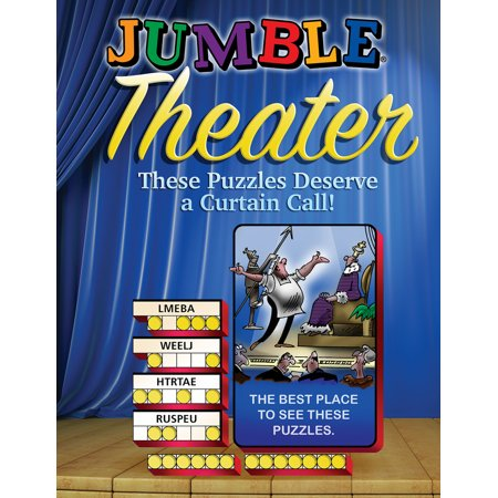 Jumble® Theater : These Puzzles Deserve a Curtain Call