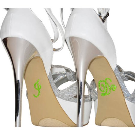 I Do Rhinestone Stickers For Wedding Shoes