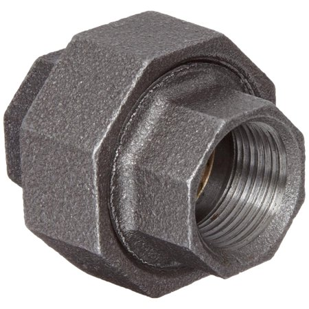 Anvil Malleable Iron Pipe Fitting, Class 150, Union, NPT Female, Galvanized Finish, Union pipe fitting for joining two pipes..., By Anvil International Ship from US