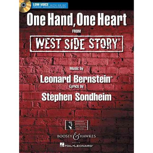 One Hand, One Heart from West Side Story: Low Voice