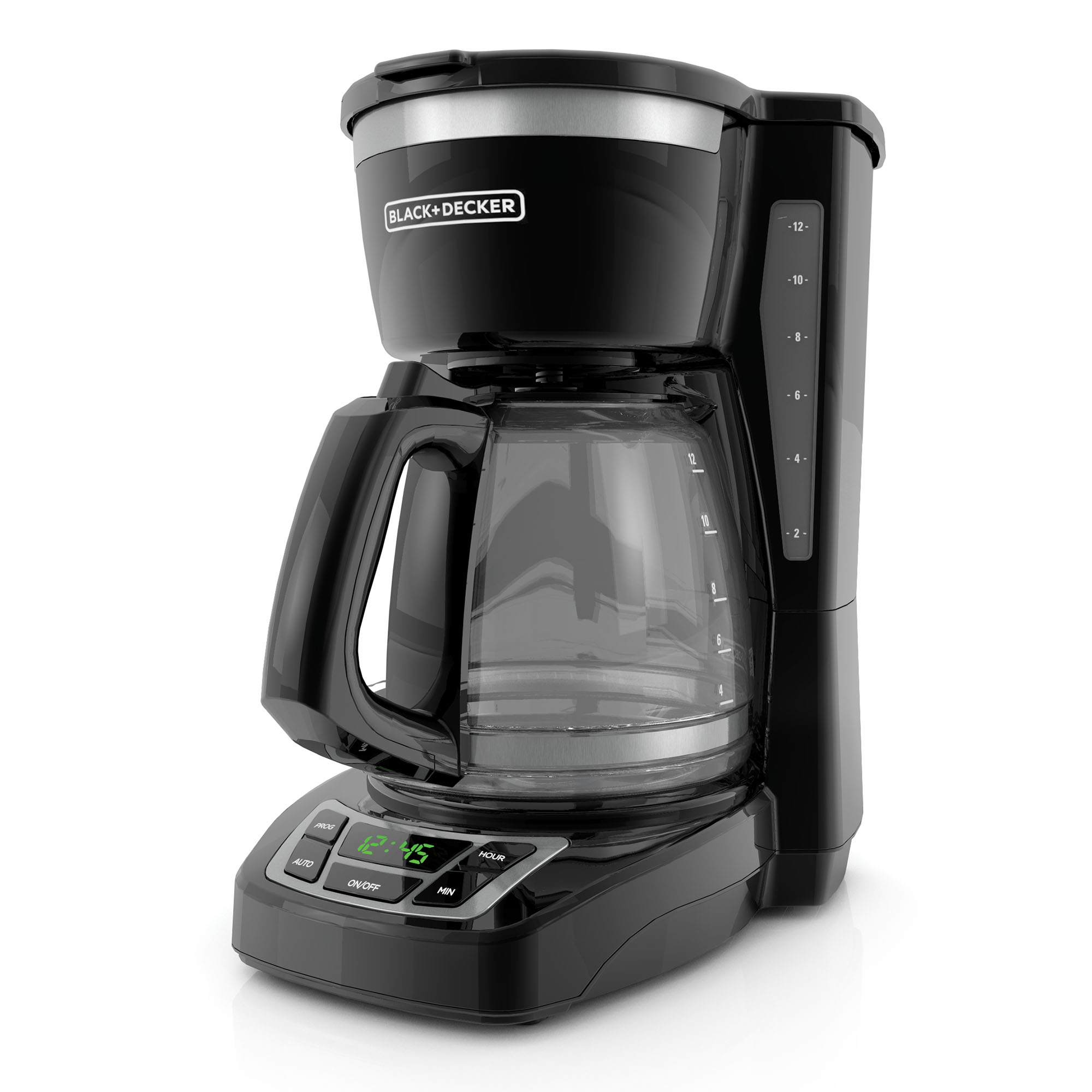 BLACK+DECKER 12-Cup* Programmable Coffee Maker, Black, CM1160B