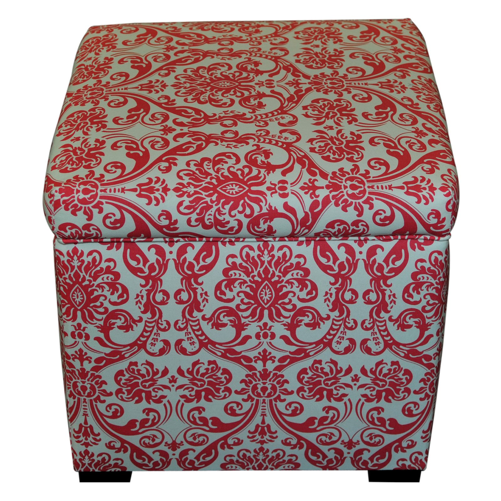 Sole Designs Tami Collection Abigail Series Upholstered Storage Ottoman