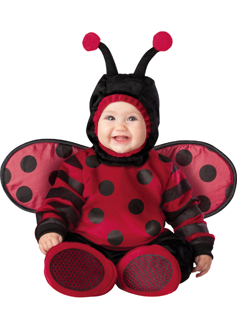 Incharacter Costumes IC6028-I612 Infant Toddler Itty Bitty Lady Bug Costume INFANT6-12 by Supplier Generic