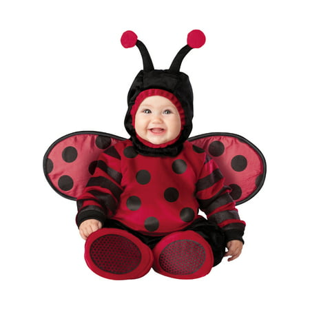 Incharacter Costumes IC6028-I612 Infant Toddler Itty Bitty Lady Bug Costume INFANT6-12 - Toddler Lady Bug Costume
