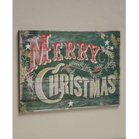The Lakeside Collection Christmas Pine Woodland Pallet Sign