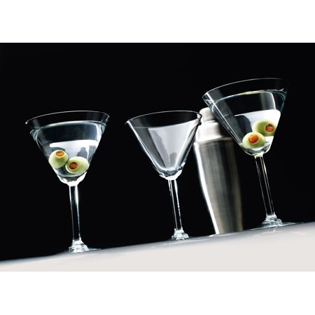 Generic Event Set of 4 - 10 oz. Martini Glasses