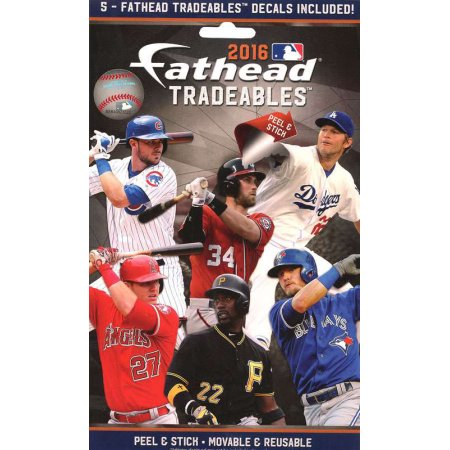 Fathead 2016 MLB Tradeables 15 count
