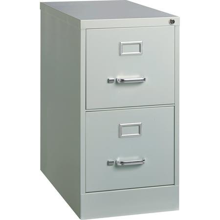 2 drawers vertical steel lockable filing cabinet gray. Black Bedroom Furniture Sets. Home Design Ideas