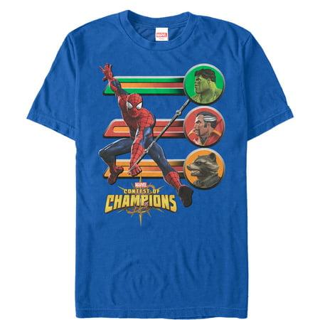 Marvel Men's Contest of Champions Spider-Man Battle (Marvel Contest Of Champions Best Heroes)