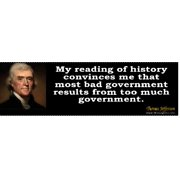Thomas Jefferson Quote 4 Bumper Sticker