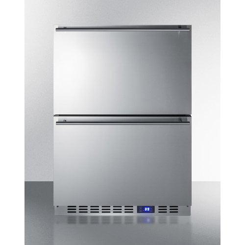Summit Appliance Summit Outdoor 23.63-inch 3.4 cu. ft. Convertible Undercounter Refrigerator