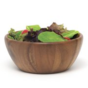 Lipper Acacia Round Flared Bowl