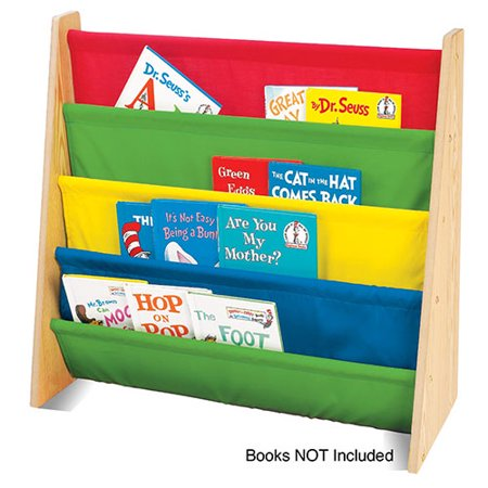 Primary Book Rack - Natural - Tot Tutors