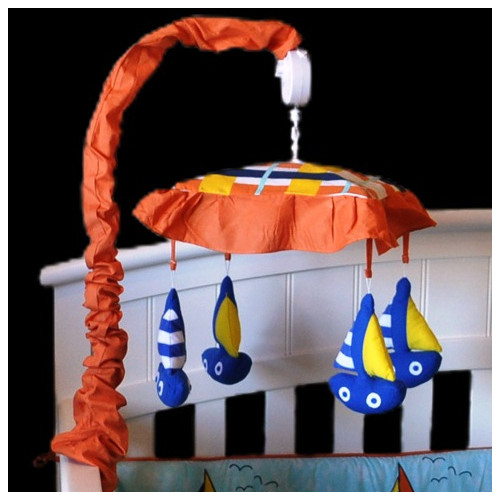 DK Leigh Baby Sailor Sailboat Musical Mobile