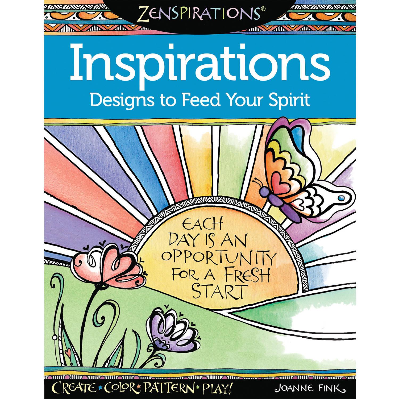Design Originals Zenspirations Adult Coloring Book, Inspirations