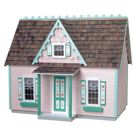 Real Good Toys Victorian Cottage Jr. Dollhouse Kit in Milled Plywood