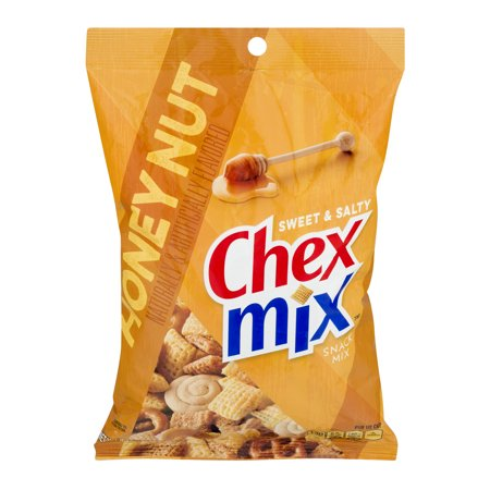 (2 Pack) Chex Mix Sweet and Salty Honey Nut Snack Mix, 8.75 oz - Halloween Chex Mix Salty