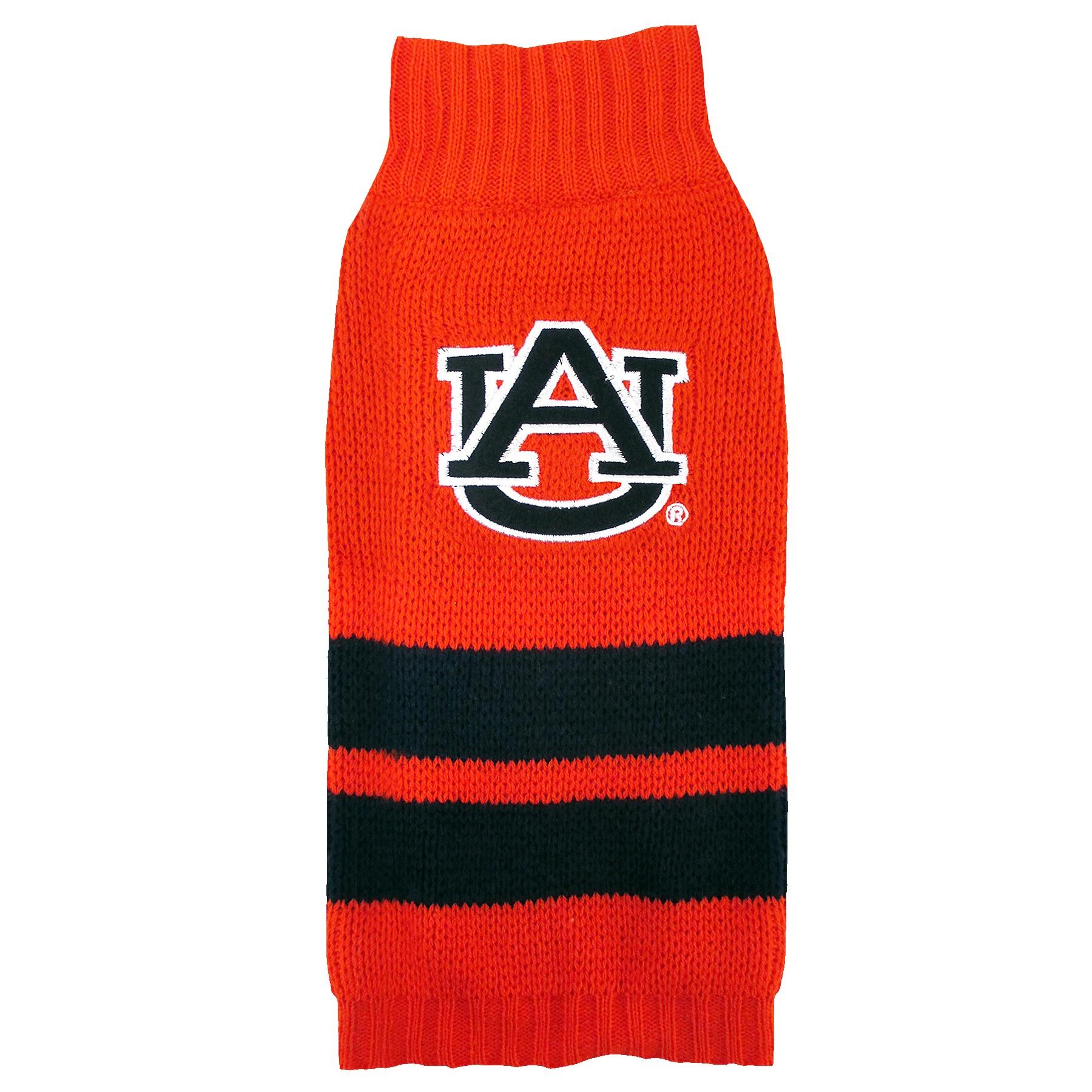 Auburn University Knitted Turtleneck Pet Sweater