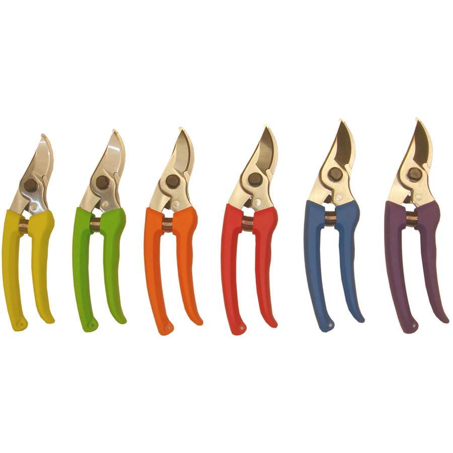 "Barnel USA B1330 7"" Steel Pruner Assorted Colors"