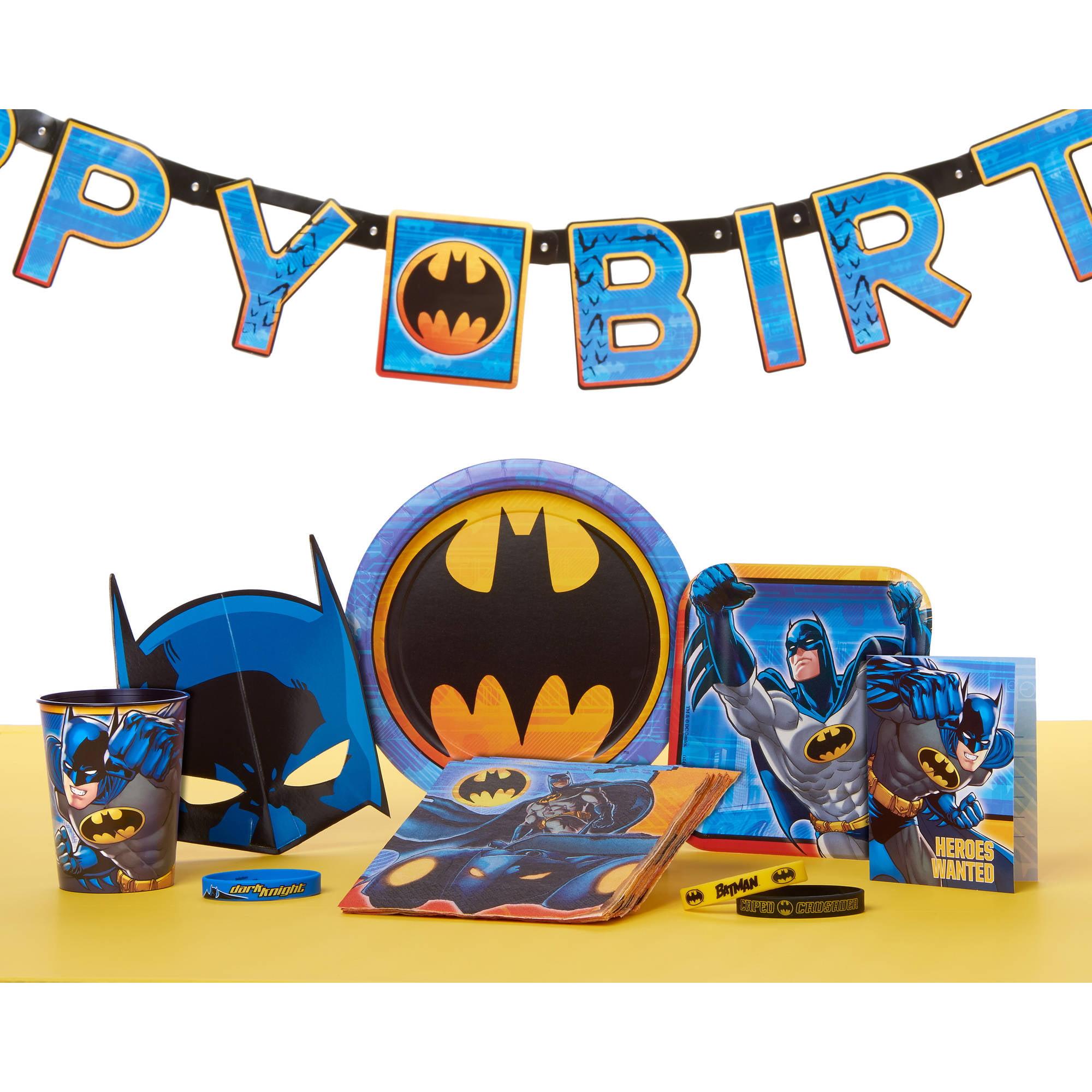Batman Table Decorating Kit Walmart
