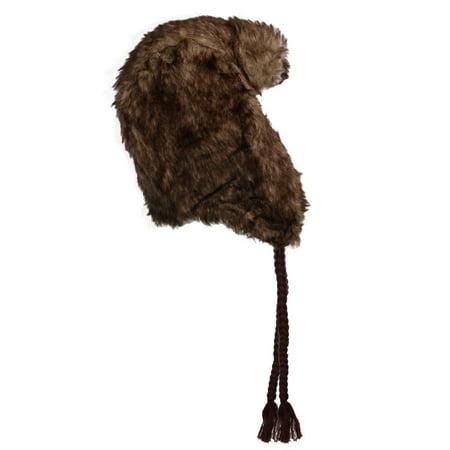 a7ad7a1acb8 Nochilla - Nochilla Trapper Hat Ear Flaps Faux Fur Winter Hats For Women Men  Fleece Lined Lumberjack Russian Hat - Walmart.com