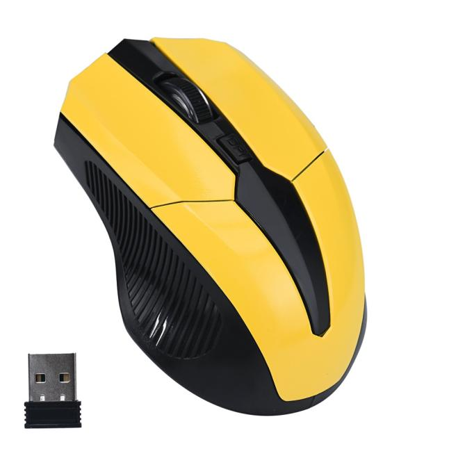 Outtop 2.4GHz Mice Optical Mouse Cordless USB Receiver PC Computer Wireless for Laptop