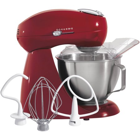 Professional Food Mixers - Hamilton Beach Electric 4.5 Quart Stand Mixer | Model# 63232