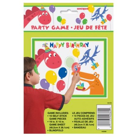 dinosaur birthday party game - Dinosaur Party Games