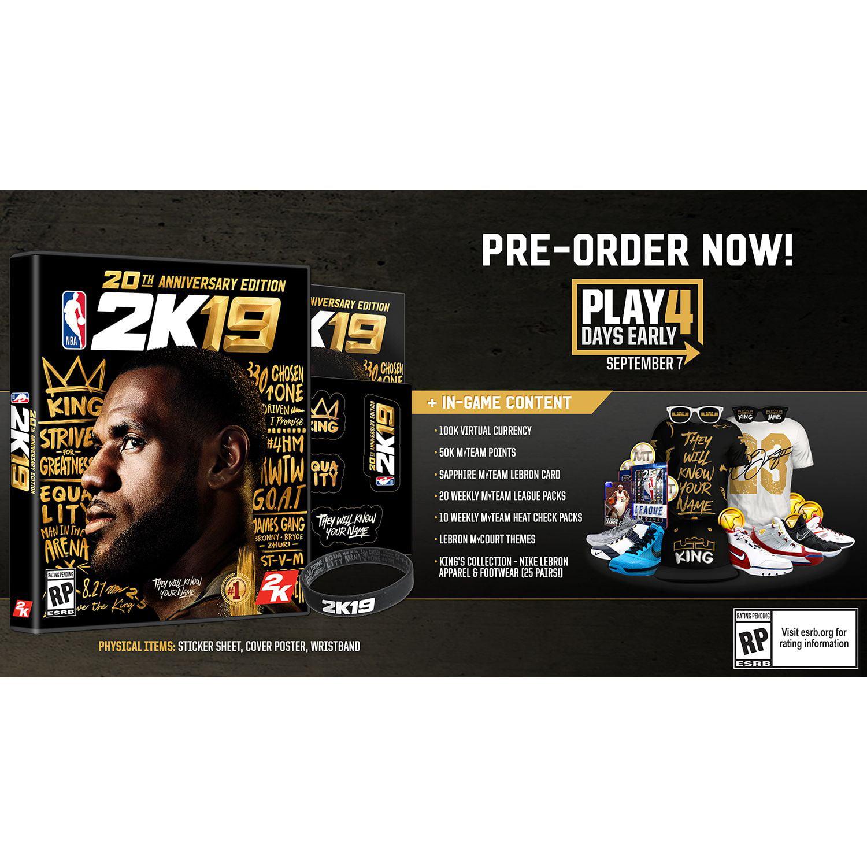 2k19 limited edition vs regular