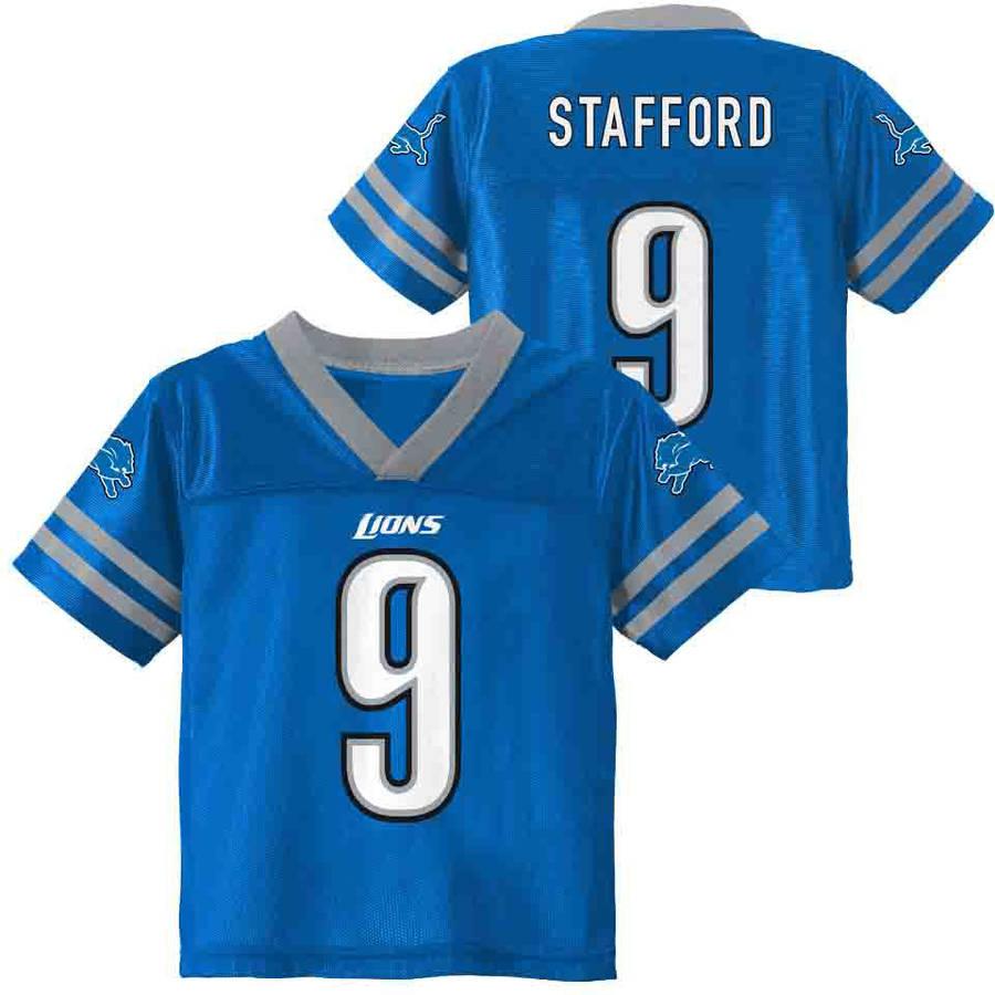 NFL Detroit Lions Toddler Matthew Stafford Jersey