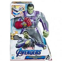 Hasbro HSBE3313 13.75 in. Avengers Endgame Power Punch Hulk Toys - Pack of 2