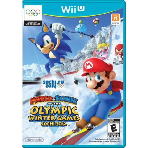 Nintendo Mario & Sonic At The Sochi 2014 Olympic Winter Games - Sports Game - Wii U (wuppaure)