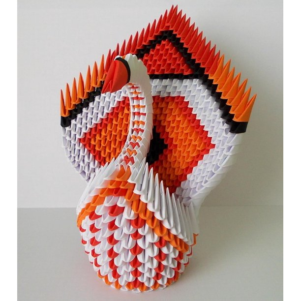 Origami - Picture Frame (Sunburst Motif ) & Stand / 종이접기 ... | 612x612