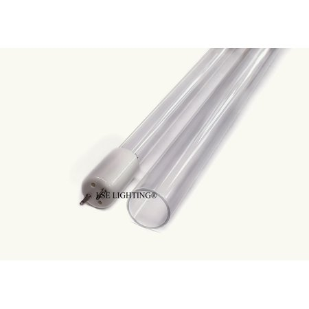 Combo Package UV Bulb Quartz Sleeve for Master Water MWC-10 (Watt Uv Replacement Quartz Sleeve)