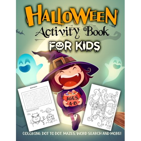 Halloween Safety Word Search (Halloween Activity Book for Kids Ages 4-8: A Fun Workbook for Celebrate Trick or Treat Learning, Pumpkin Coloring, Dot To Dot, Mazes, Word Search and More!)