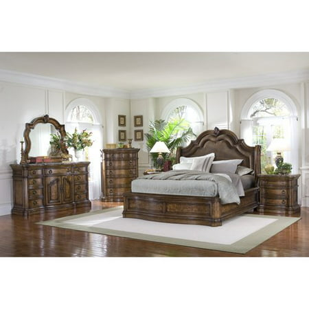 Pulaski Mateo Queen Bedroom Setsan Mateo Queen Bd Drsr Mirror Chst Ns