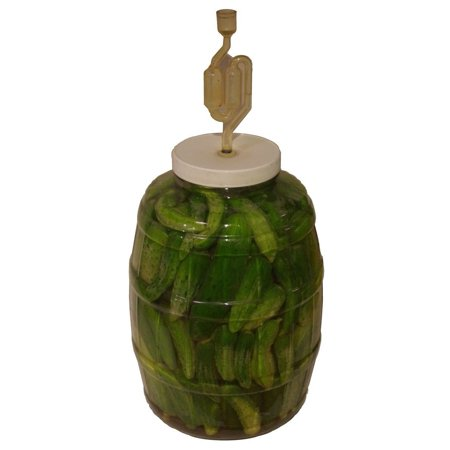 The Picklemeister Glass Fermentation Jar (Picklemeister 2 1/2 Gallon)