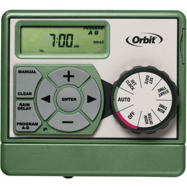 Orbit Easy Dial Dual Program Indoor Mount Sprinkler Timer