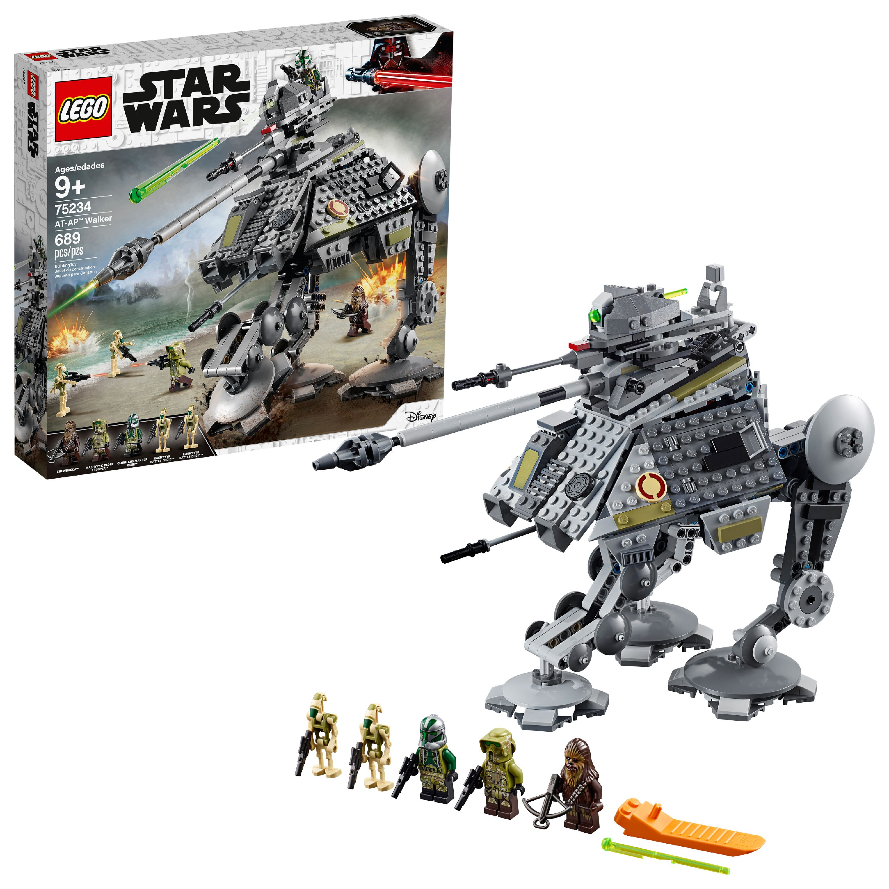 LEGO Star Wars TM AT-AP Walker 75234 Building Set (689 Pieces)
