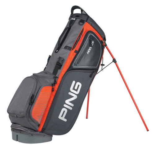 New Ping 2016 Hoofer Golf Stand Bag (Gray/Orange)