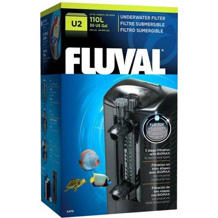 Fluval U2 Underwater Filter, 105 gph