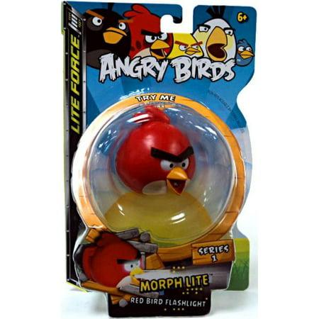 Angry Birds Morph Lite Series 1 Red Bird Flashlight